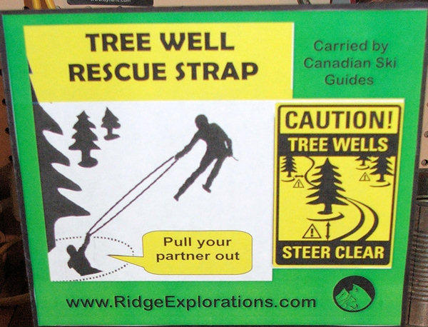 Ridge Explorations Tree Well Rescue Strap